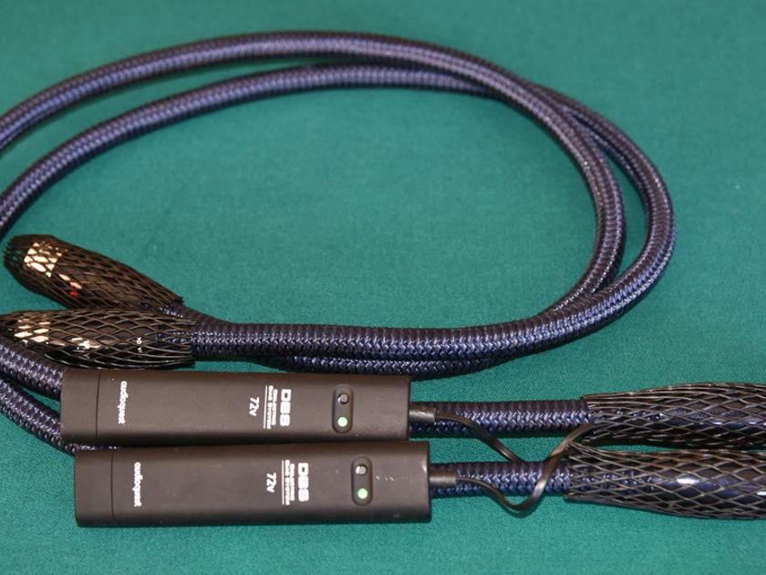 AUDIOQUEST WILD BLUE YONDER 1 METER XLR BALANCED INTERCONNECTS W / DBS