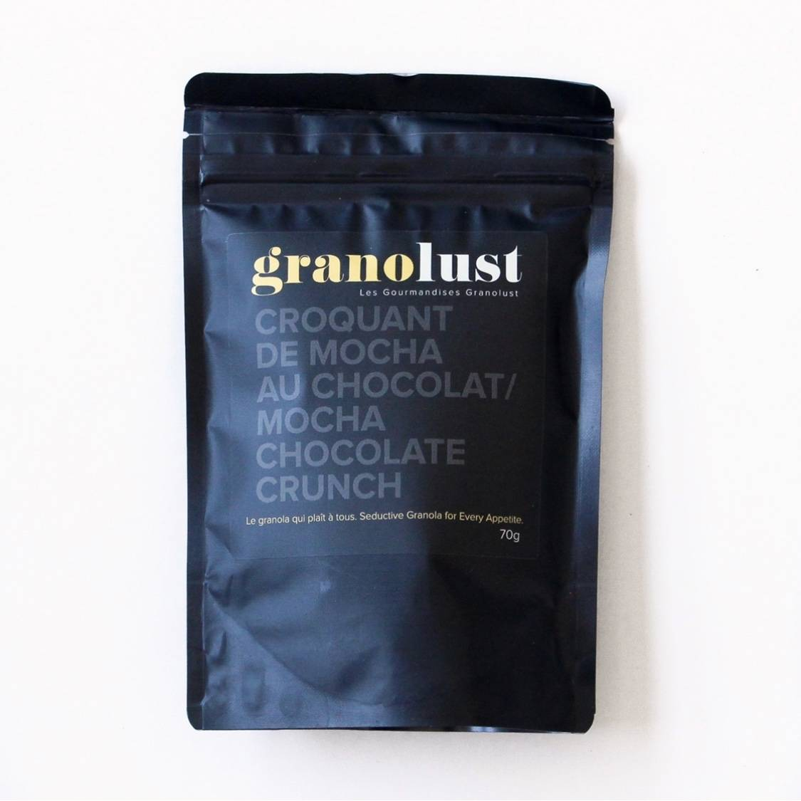 Graines choco mocha granolust