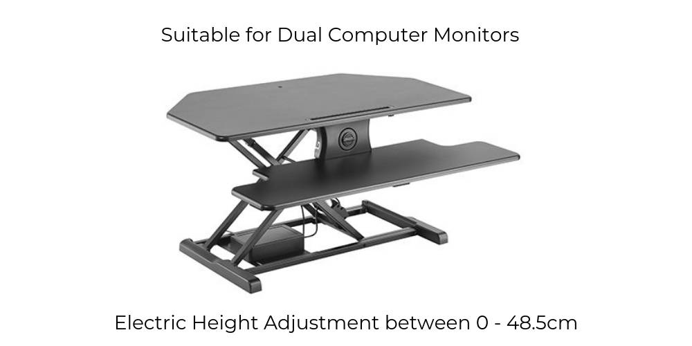 Electric Corner Sit Stand Desk Height Adjustable