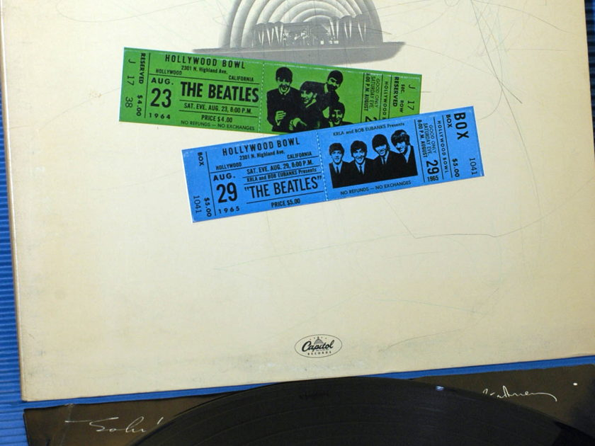 "THE BEATLES - - ""At The Hollywood Bowl"" - Capitol 1977 original release"