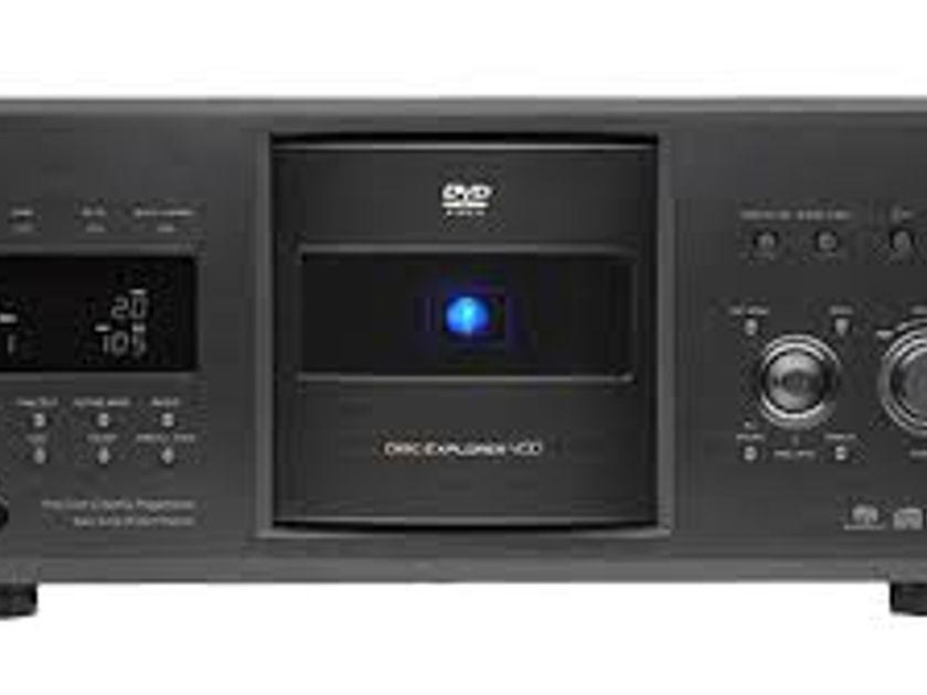 Sony DVP-CX995v 400 Disk cd/dvp player