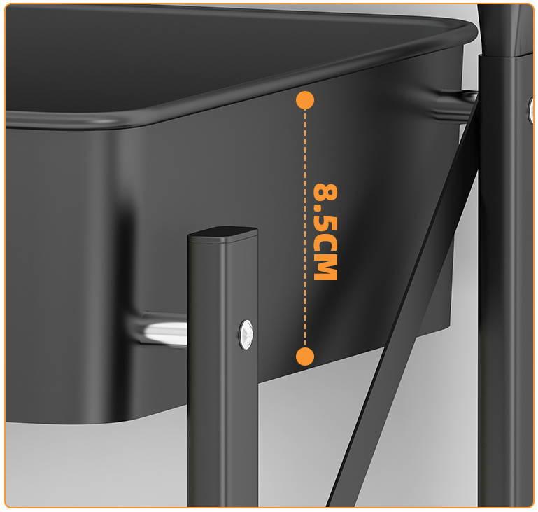 light weight utility cart, folding rack