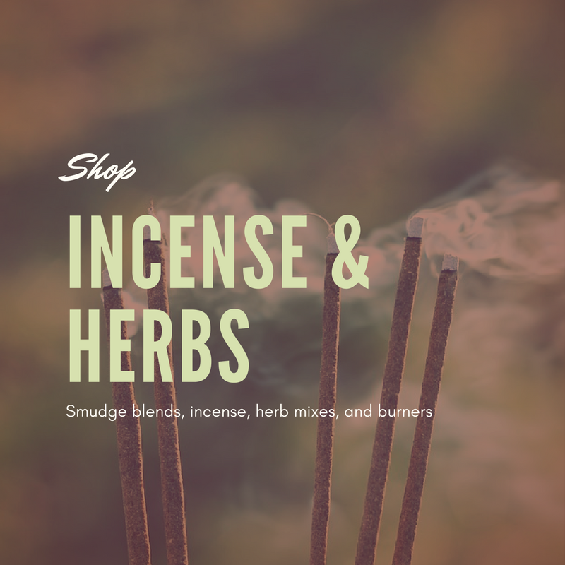 shop incense and herbs