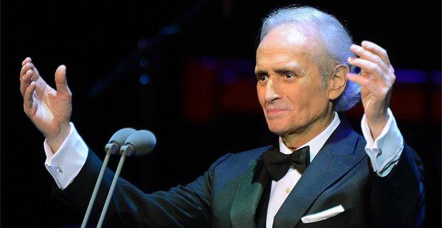 «Радио 7» приглашает на концерт Хосе Каррераса - Новости радио OnAir.ru
