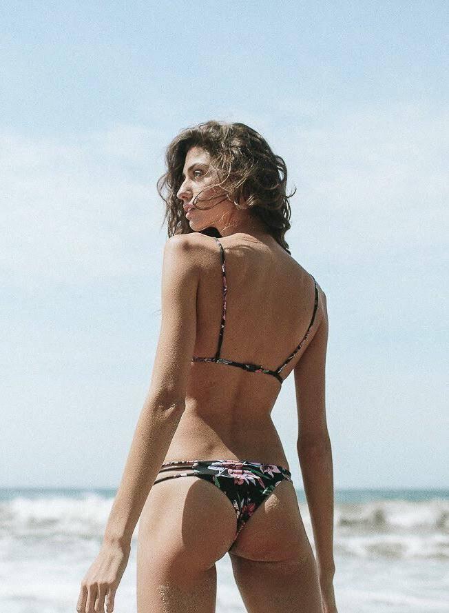 Rove Soleil Pink Crochet Bikini Top + Bottom
