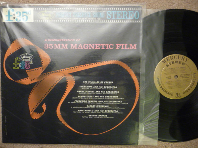 A DEMO OF 35 MM MAGNETIC FILM - PERFECT PRESENCE Mercruy LP