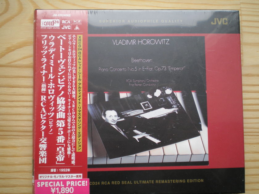 "Vladimir Horowitz - Beethoven's ""'Emperor' Concerto No. 5 XRCD"