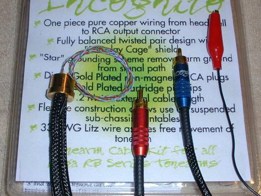 Rega Incognito Rewire Kit (Cardas wire) new