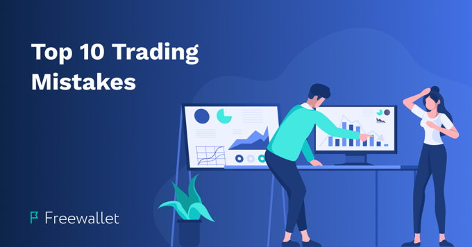 The biggest beginner mistakes in cryptocurrency trading