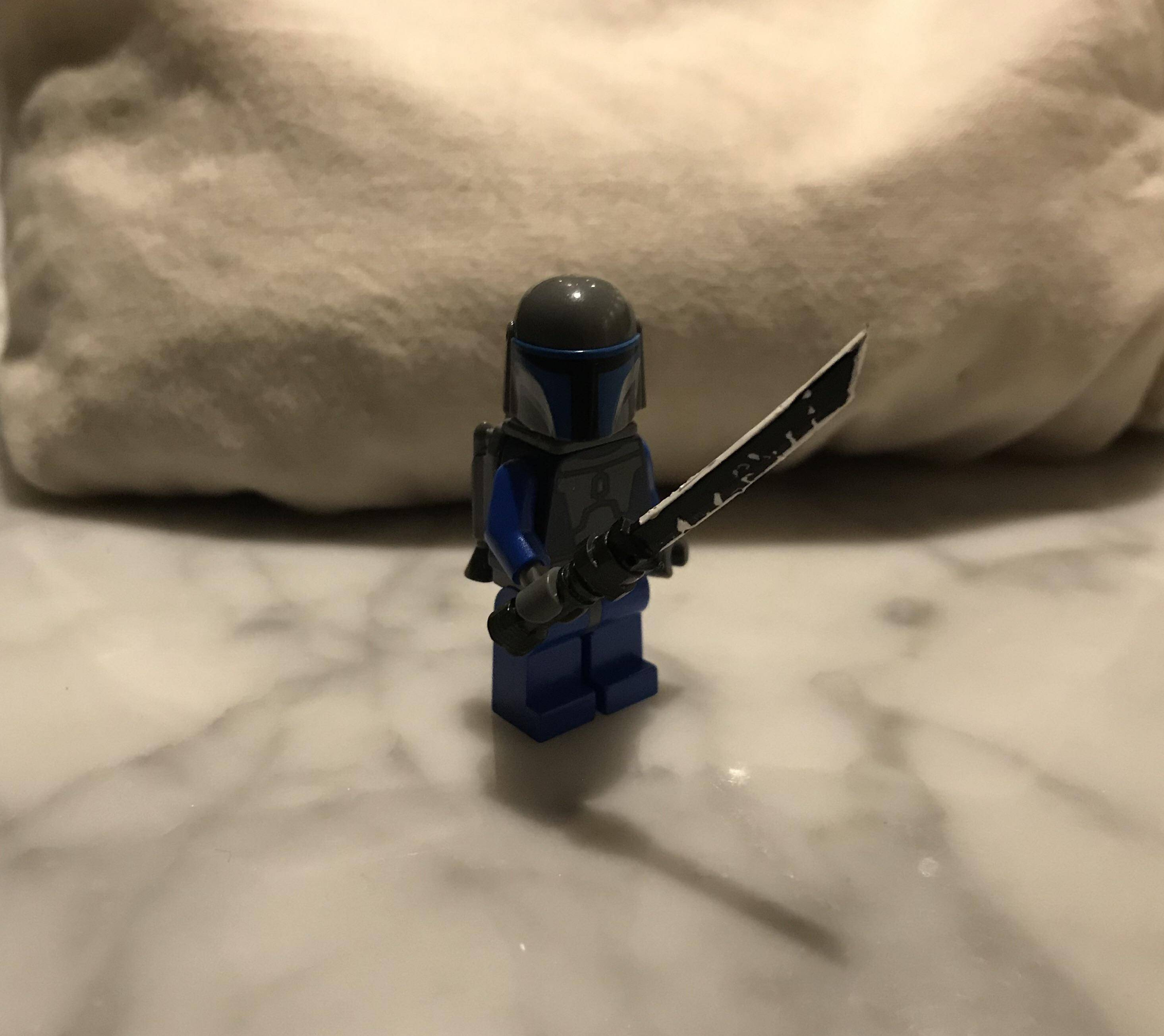 LOT of 4 LEGO Lightsaber with Hilt Glow in the Dark Star Wars Minifigure Weapons