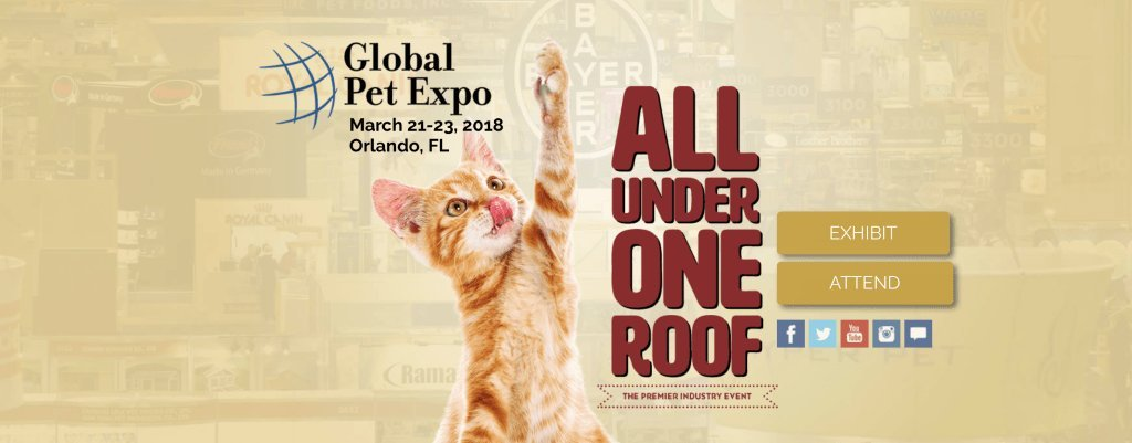 Pet Chef attends Global Pet Expo 2018