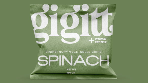 Widarto Impact creates identity and packaging design for GIGITT Vegetables snack.