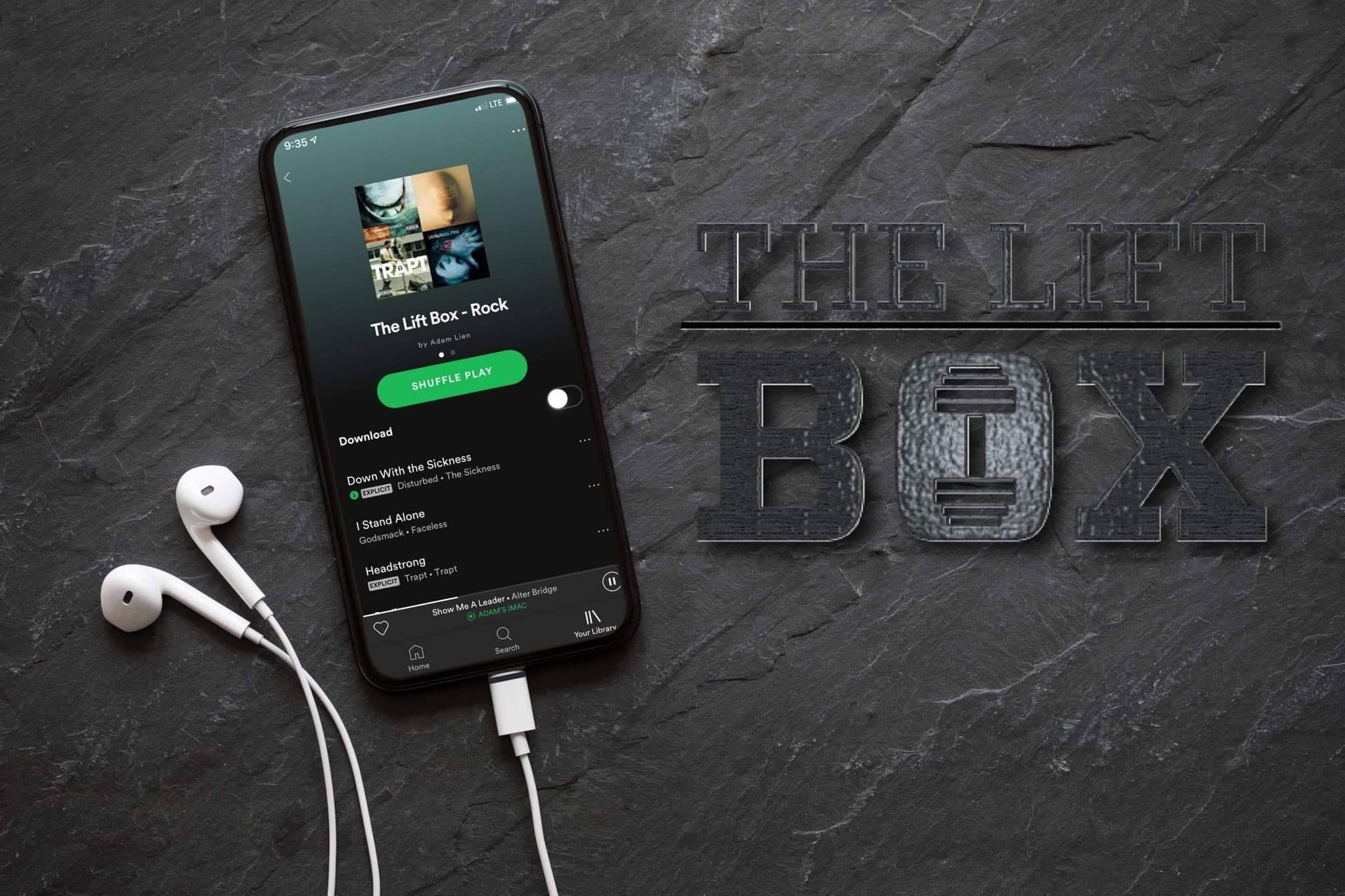 Spotify Playlist by The Lift Box