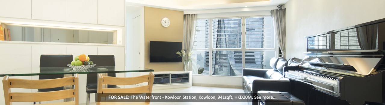 Hong Kong - The Waterfront - Living Room
