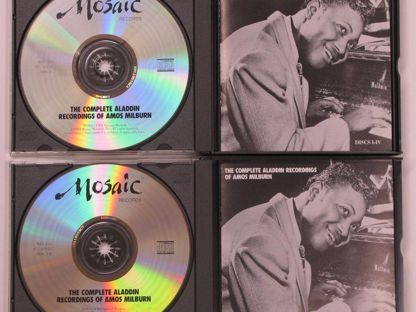 Amos Milburn  - Mosaic 7cd box set The Complete Aladdin Recordings