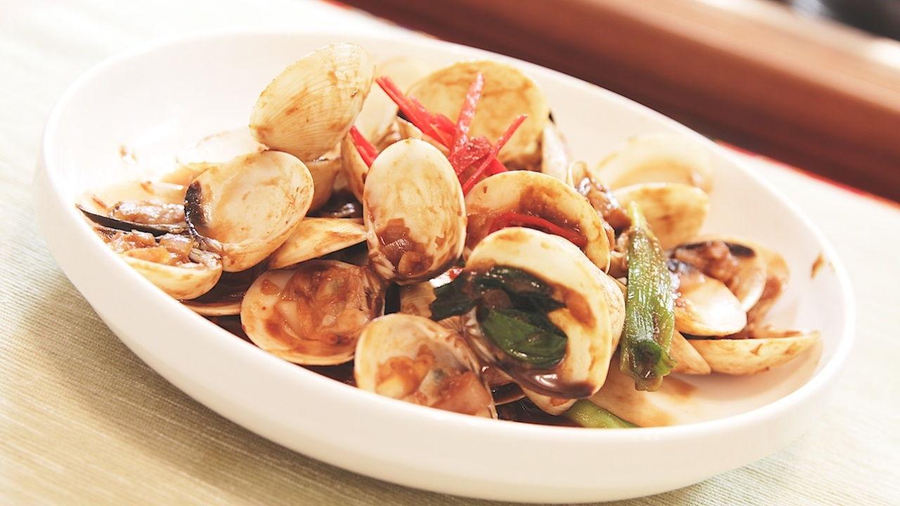 Stir-Fried Clams with Taucu