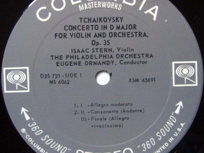 Columbia 2-EYE / STERN-BERNSTEIN-ORMANDY - Four Favorite Violin Concertos, NM, 3LP Box Set!