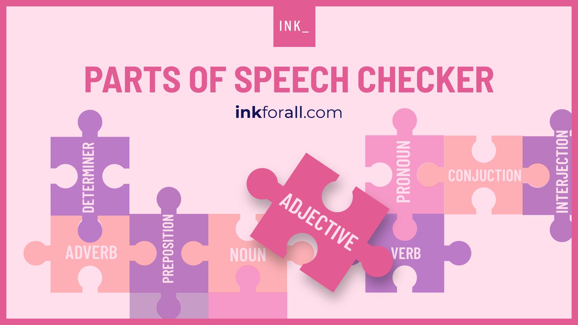 Parts of speech checker