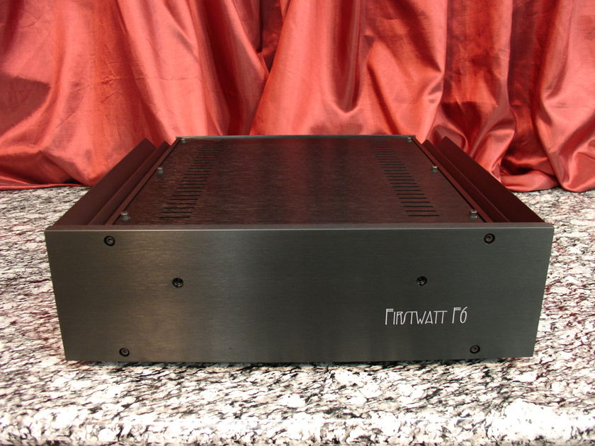FIRST WATT / PASS LABS F6 Stereo Power Amp 120V Satisfaction Guaranteed as Always