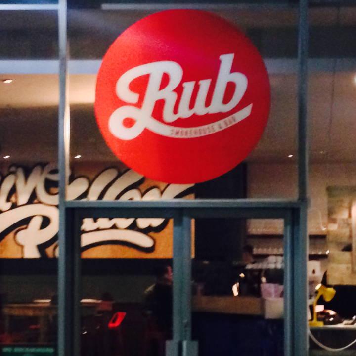 Rub Nottingham Food & Drink Menus