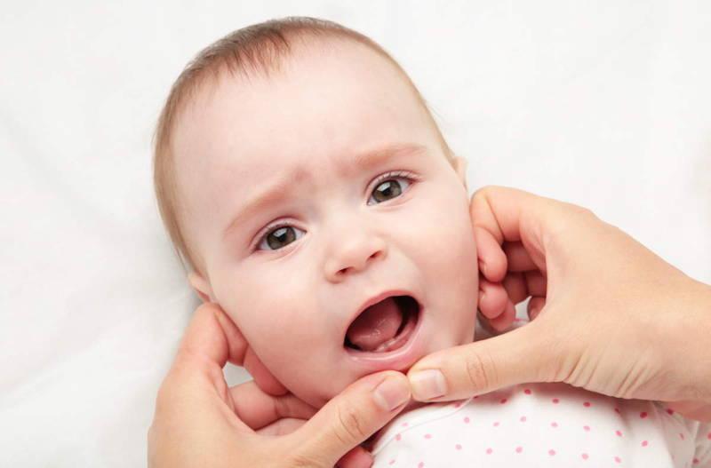 Baba első fogak