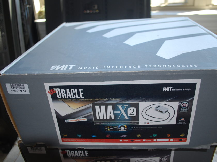 MIT Cables Oracle MA-X2 Interconnect RCA 1.5m pair