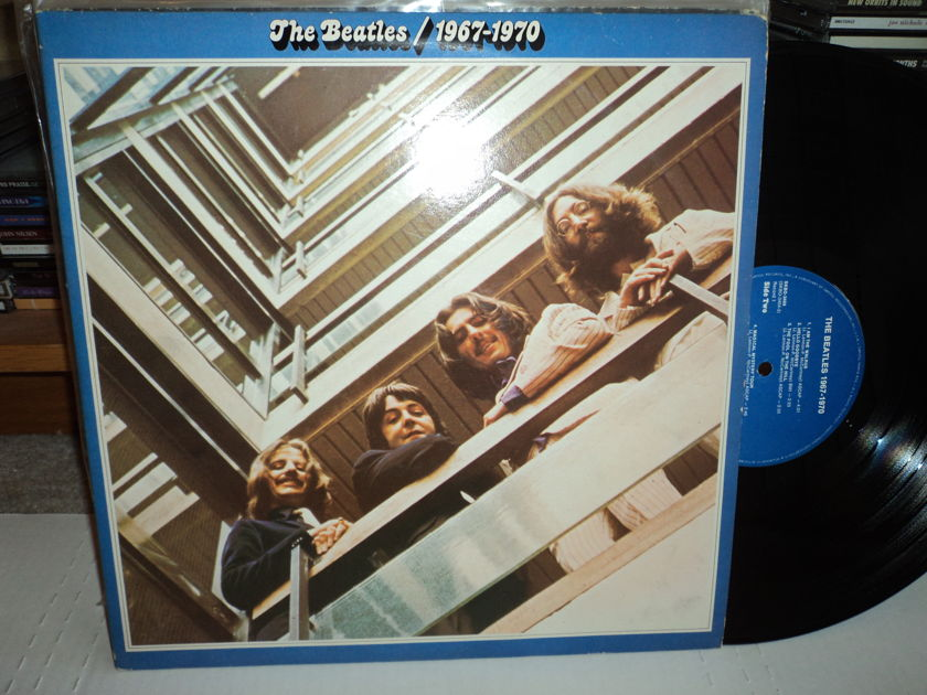 The Beatles  - 1967 - 1970 Blue Label SKBO 3404 (2)LPs