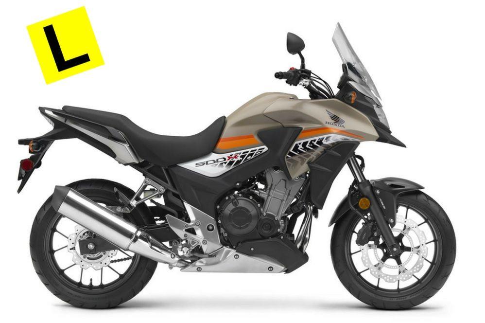 2016 HONDA MOTORCYCLES CB500X