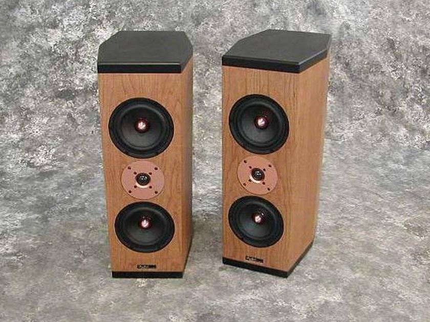 Tyler Acoustics D3M's in  cherry! 2yr warranty