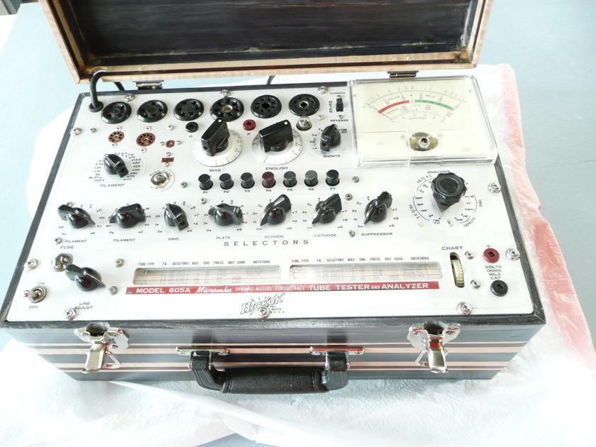 Hickok Tube Tester  Model 605A