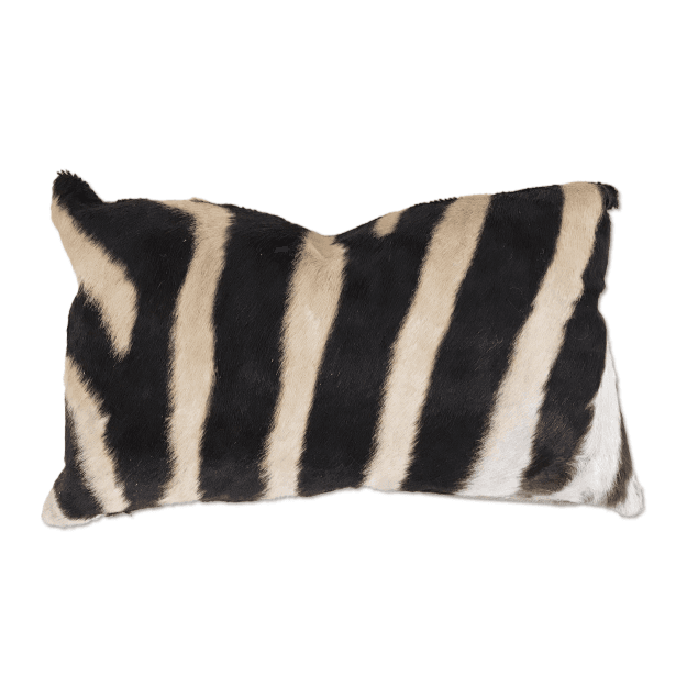Zebra Hide Pillows and Accessories