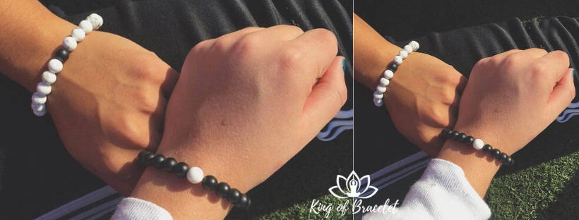 Bracelet Distance Yin & Yang - King of Bracelet