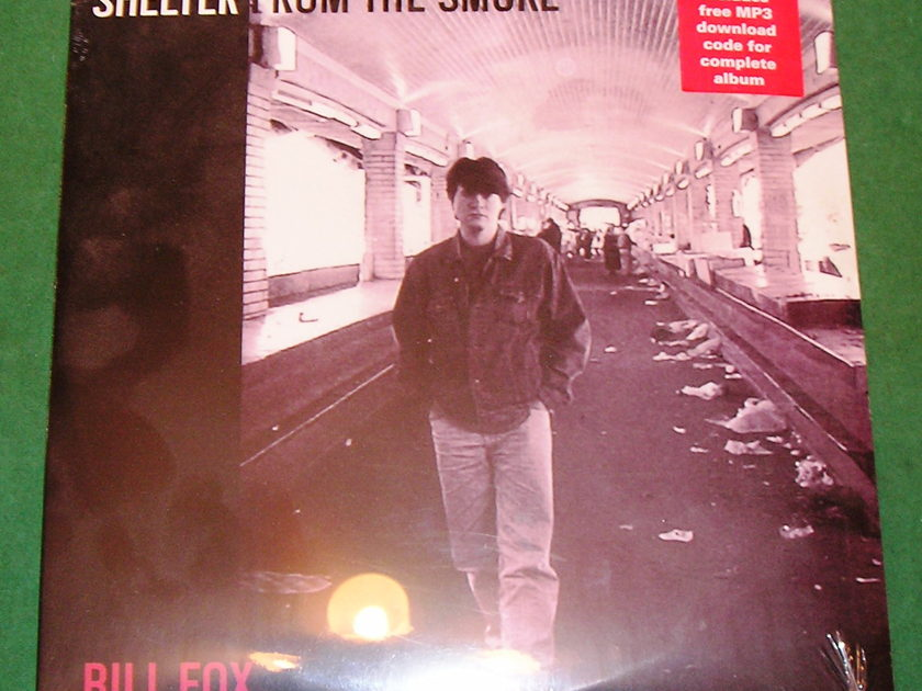 "BILL FOX -   ""SHELTER FROM THE SMOKE"" DOUBLE LP  * NEW/SEALED *"