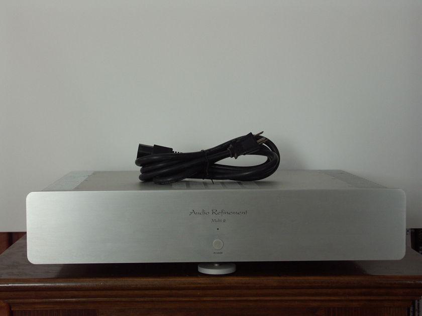 Audio Refinement by YBA Multi 2 Power Amp