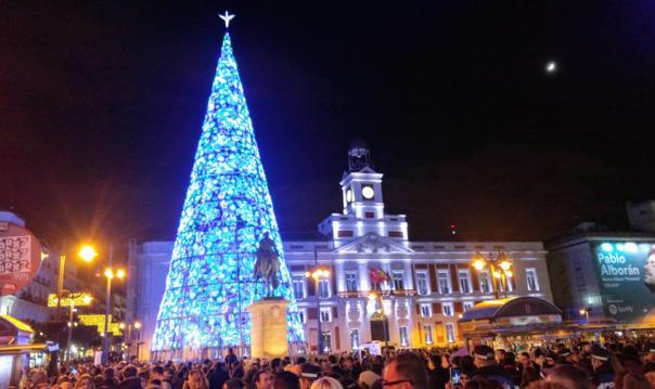 Ночная экскурсия по Мадриду