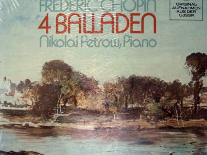 ★Sealed★ DG / - PETROW, Chopin Four Ballades!