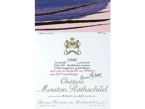 Chateau Mouton Rothschild 1980