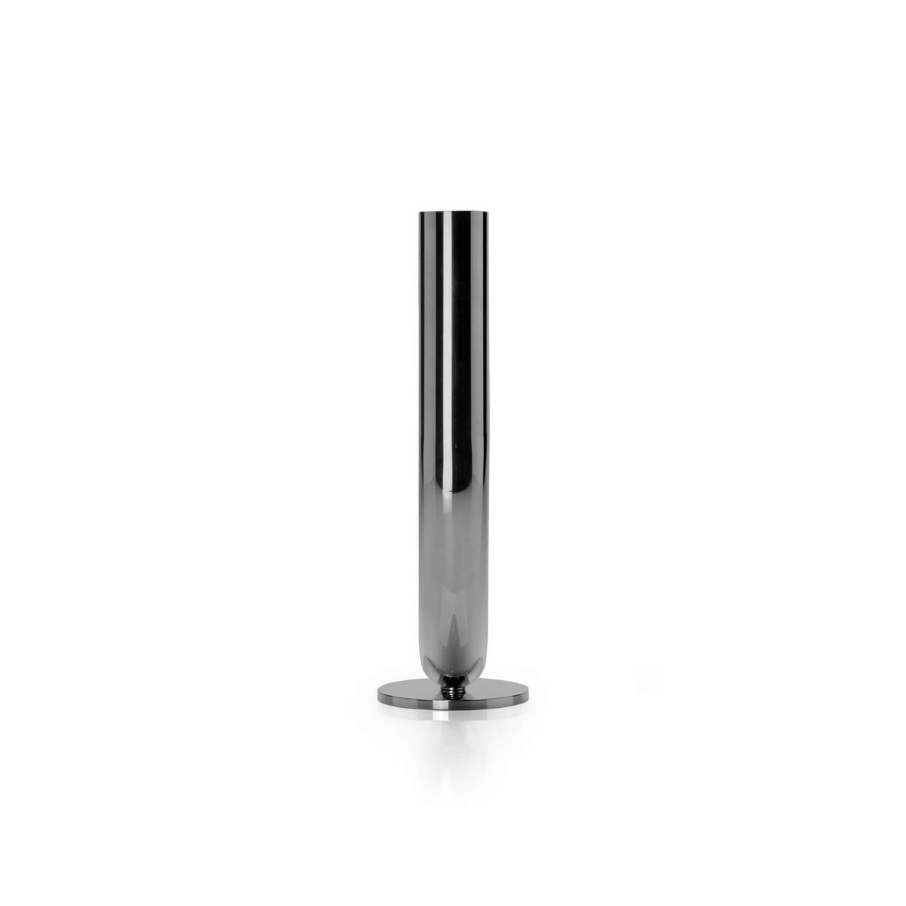 U Candleholder in Black Nickel finish side profile