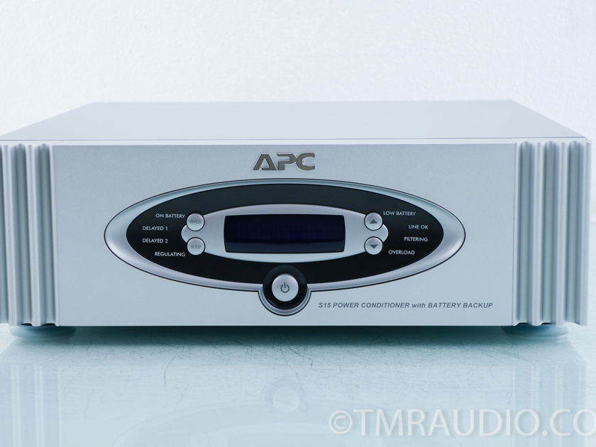 APC S15 AC Power Conditioner w/ Battery Backup (9882)
