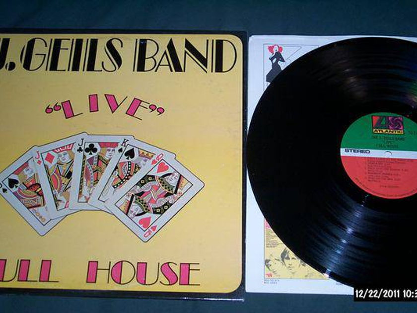 J. Geils Band - Live Full House sd 7241 lp nm