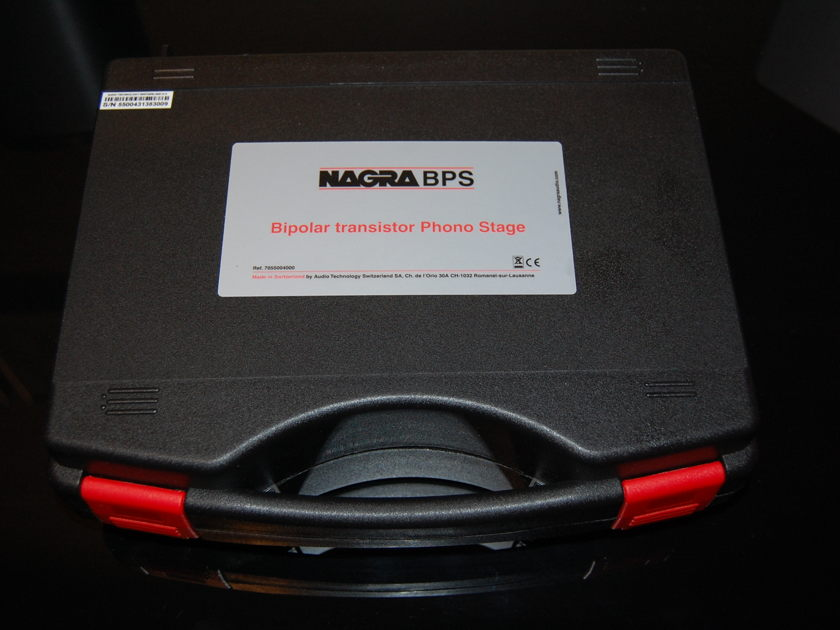 Nagra BPS  superb battery powered  phono preamp