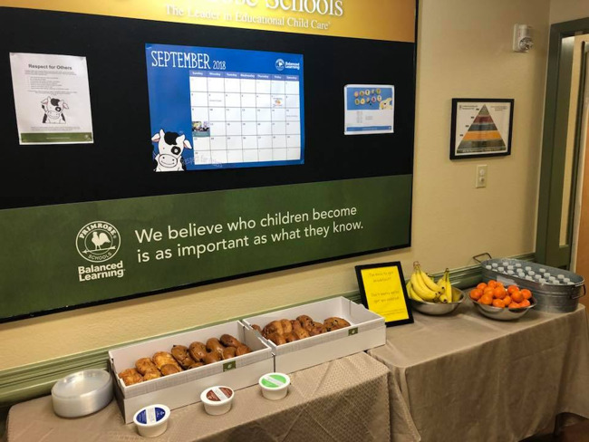 Working Parent Appreciation Grab and Go Breakfast