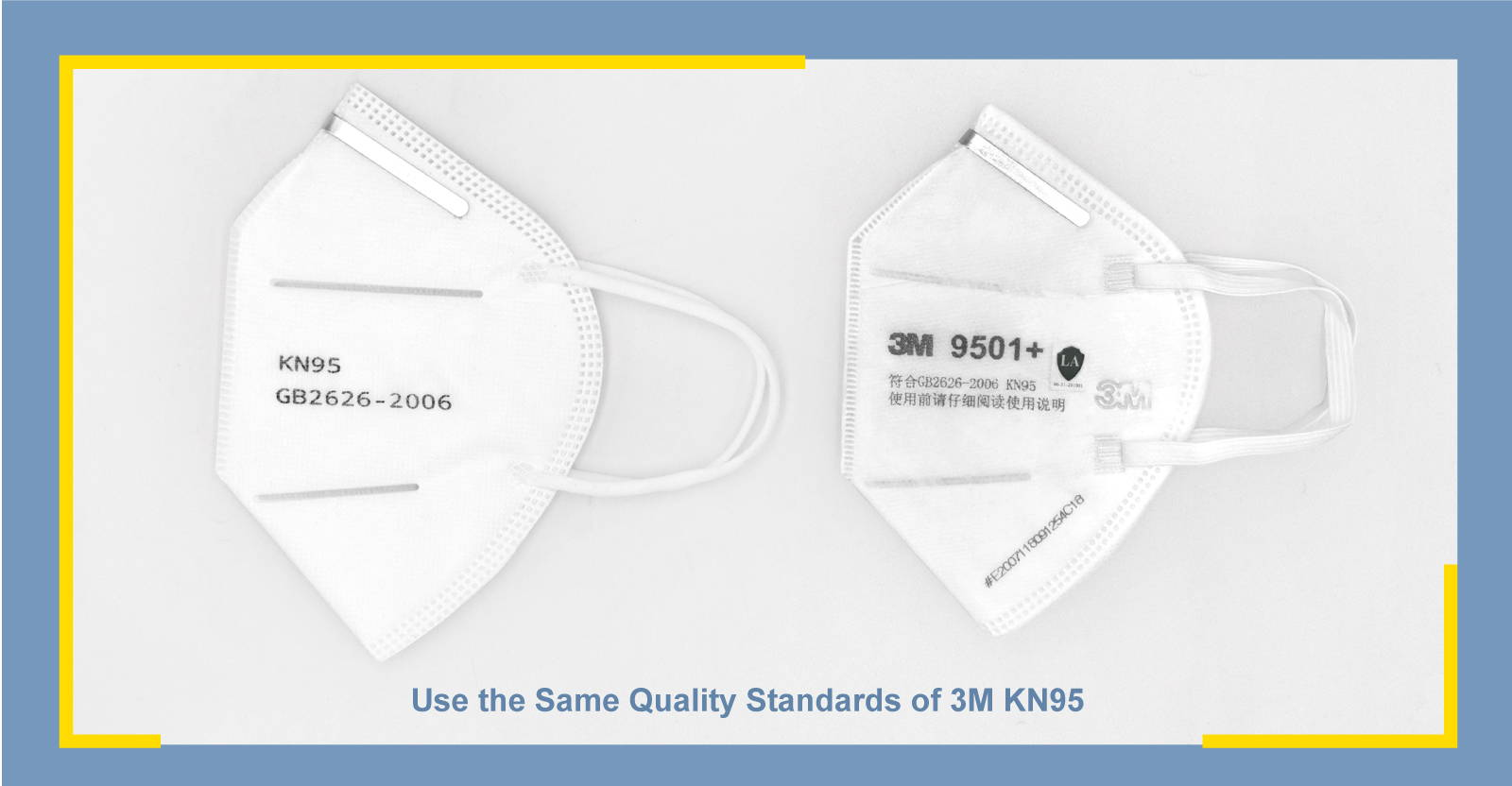 KN95 3M Comparison