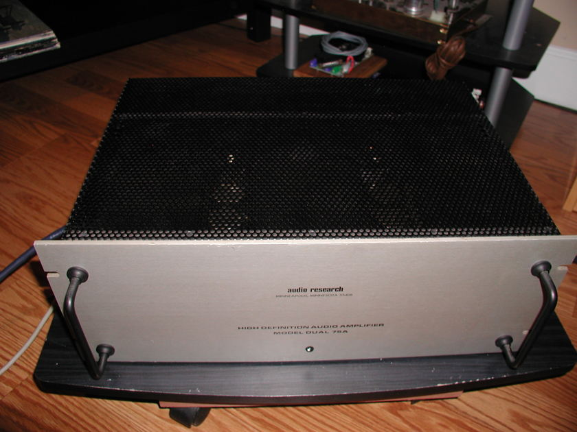 Audio Research D-75A Tubed Amplifier