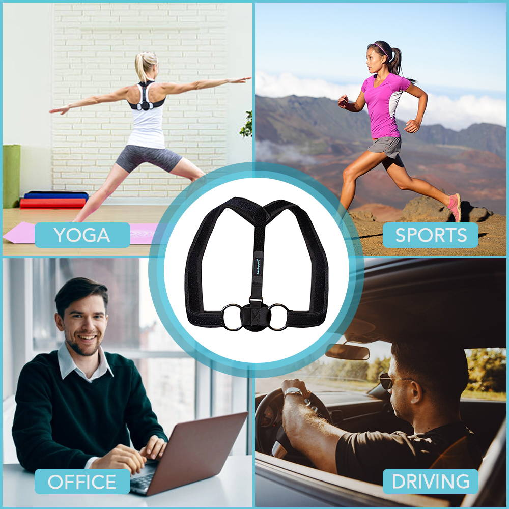 posture corrector yoga sports office driving