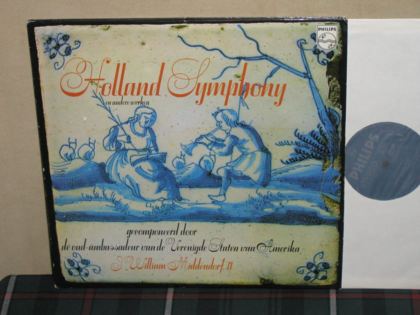 Bonsei/HSO - Middendorf Holland Sym Philips Import pressing 6557