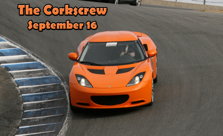 The Corkscrew at Foxtrot NCR Autox