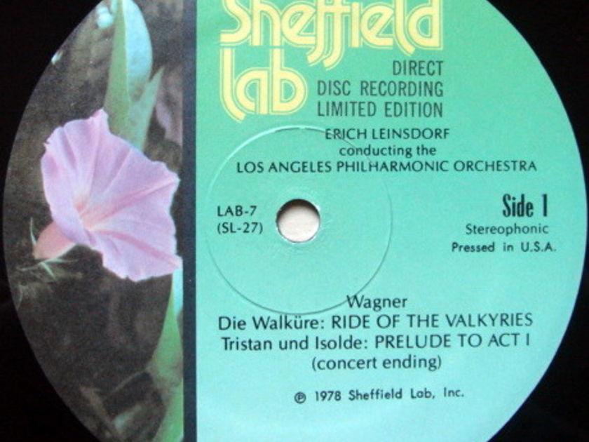★Audiophile★ Sheffield Lab / LEINSDORF, - Wagner Die Walkure, NM!