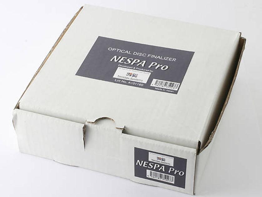 Nanotec Nespa Pro unused cd treatment new in box