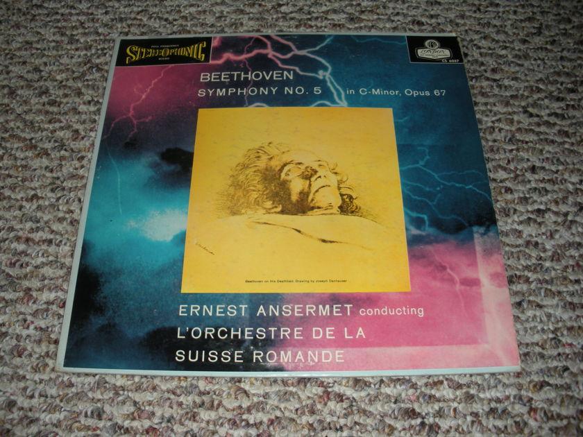 * Blueback * - Beethoven Symphony No 5 Ansermet CS 6037  ffss London Blueback